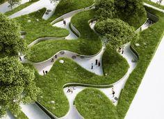Penda highlights global water crisis with meadow pathway installation   Dezeen » Architecture   Bloglovin