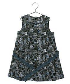 PATACHOU BABY / コットンプリントフリルワンピース(ワンピース・ドレス)