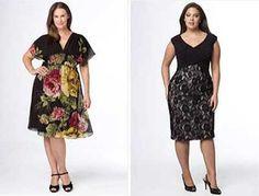 Modelos de Vestidos para Gordinhas Curtos e Longos