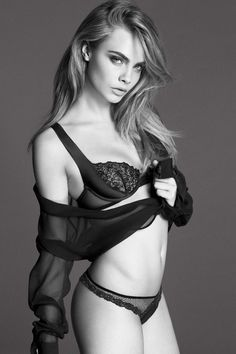 Lingerie La Perla collection été 2014 avec la sexy Cara Delevingne