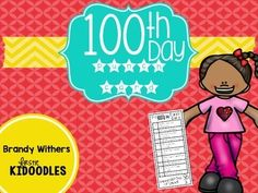 Celebrate the 100th day with this easy to prep packet filled with fun activities that your kids are sure to love.  This pack includes a punchcard, station signs, and printables for 10 stations. Almost all of the materials needed can more than likely be found in your classroom.
