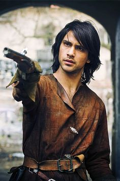 Dang D'artagnan! To think the main reason I was going to watch The Musketeers was because Peter Capaldi was in it.