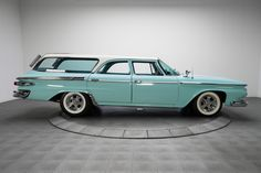 1961 Plymouth Suburban Sport Blue For Sale