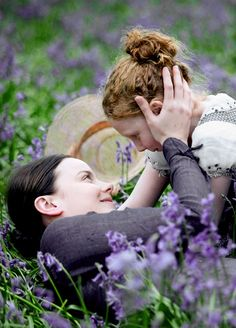 Abbie Cornish (Fanny Brawne) & Edie Martin (Toots) - Bright Star (2009) directed by Jane Campion