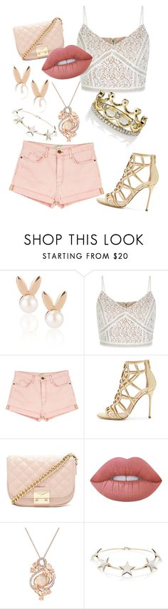 """Lush Life"" by owl33546 ❤ liked on Polyvore featuring Aamaya by Priyanka, New Look, Current/Elliott, Sergio Rossi, Forever 21, Lime Crime, LE VIAN, Givenchy and Erica Courtney"