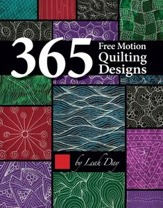 365 Free Motion Quilt Designs Book - Main - 103996