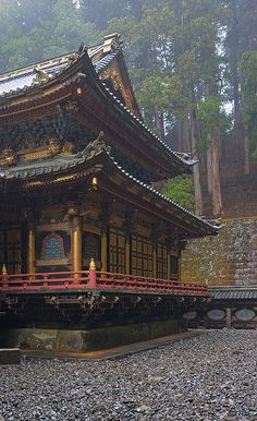 Taiyuin-bio Shrine, Nikko, Japan