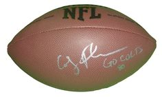 Indianapolis Colts Coby Fleener signed NFL Wilson full size football w/ proof photo.  Proof photo of Coby signing will be included with your purchase along with a COA issued from Southwestconnection-Memorabilia, guaranteeing the item to pass authentication services from PSA/DNA or JSA. Free USPS shipping. www.AutographedwithProof.com is your one stop for autographed collectibles from Indiana sports teams. Check back with us often, as we are always obtaining new items.