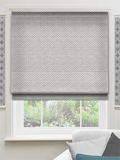 Elision Steel Roman Blind from Blinds 2go