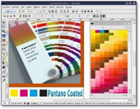 Using Pantone color palette in Gimp, Inkscape and Scribus.