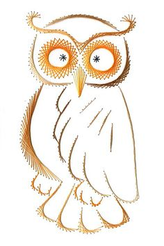 Stitched white owl  by mjavushka