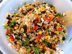 Black Bean  Mango Rice Salad recipe