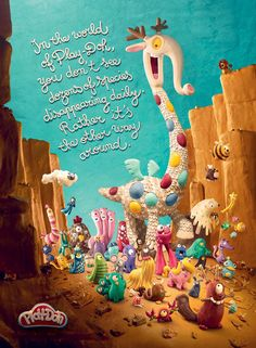 Play-Doh Print Ad - In the World of Play-Doh, 1