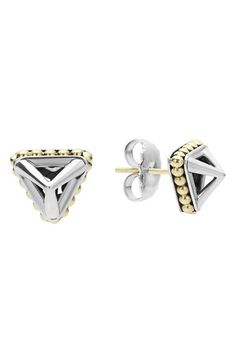 LAGOS KSL Pyramid Stud Earrings available at #Nordstrom