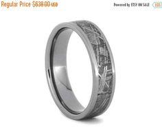 Elegant Finest Quality Seamless Meteorite Rings Meteorite Bands Meteorite Engagement Rings and Meteorite Wedding Bands M Word Ring Pinterest Engagement