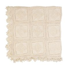 Cream hand crochet throw – Shelter 7