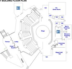 floor plan template for theatre | Modern Small House Plans Spanish Bungalow Plans >>