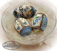 Easter, goose shells