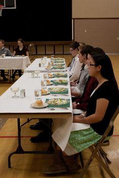 Simons Says {2013}.: Etiquette dinner.