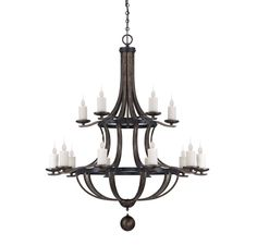 Alsace 15 Light Chandelier :: Chandeliers :: Products :: Savoy House Lighting
