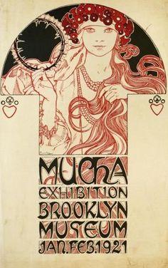 Alphonse Mucha - Brooklyn Museum Exhibition, 1921