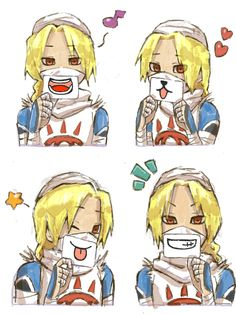 Sheik is so cute in these!