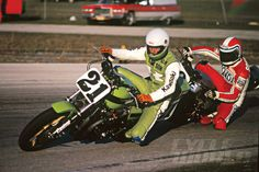 A look back at the origins of the Superbike, Eddie Lawson and Freddie Spencer by Kevin Cameron.