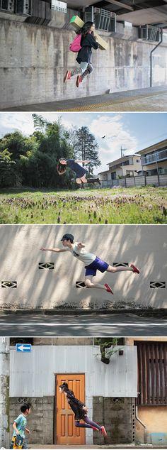 I wish I could fly. Japanese photographer Natsumi Hayashi #photography #fly #levitate