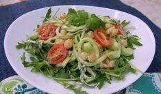 Zucchini Salad With Creamy Avocado Dressing