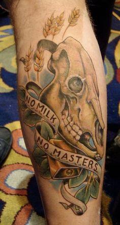 Vegan Tattoo!