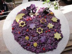 Il risotto di Natale dello chef Santino Strizzi è con le patate viola | L'Abruzzo è servito | Quotidiano di ricette e notizie d'Abruzzo