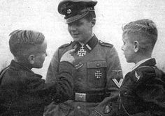 """The Dutch volunteer Gerardus Mooyman, of SS-Panzerjäger-Abteilung 23 """"Nederland"""", was awarded the Knight's Cross for destroying 13 Soviet tanks on one day during a battle south of Ladoga Lake in Northern Russia on February 13, 1943. He was the first non-German to be awarded this prestigious honour and was feted throughout the Netherlands and Germany and held up as an example to the youth of his native country."""