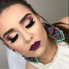 """4,061 Likes, 31 Comments - Makeup Universe ✨ (@univer.makeup) on Instagram: """"Inspiração ❤️ Makeup by @paulaciacco ✨✨ _____Quer divulgar seu trabalho? Entre em contato via direct…"""""""