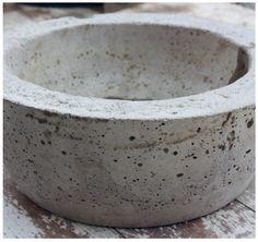 Un grand pot rond en béton pour mon jardin   Prima
