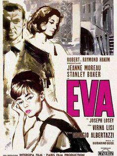 Eva (1962) Italia. Dir: Joseph Losey. Drama - DVD CINE 585