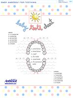 Tooth fairy baby tooth chart kid stuff pinterest tooth chart todays freebie free printable baby tooth chart all great idea for your baby book use this chart to keep track of your new babys teeth ccuart Gallery