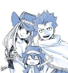 ONLY SHIP TO BECOME CANON, NONE BLINKS AN EYE, NATSU TOUCHES LUCY EVERYONE GOES CRAZY