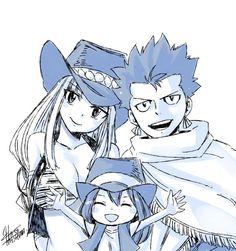 Alzack, Bisca, and Asuka