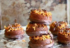 Confectionary Tales of a Bakeaholic: Chocolate Samoa Donuts