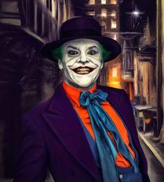 Joker Nicholson, Fictional Characters, Art, Art Background, Kunst, Performing Arts, Fantasy Characters, Art Education Resources, Artworks