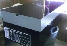 Jordan Custom Shoe Box i have to try to make one even if it takes me yrs ;-D