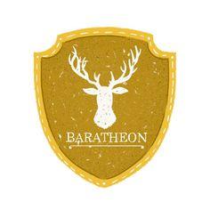 House Baratheon Sigil - Maria Suarez Inclan