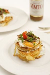 Food e Mag dxb Issue 2 - recipes - chive pancakes