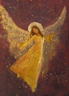 Angel Images, Angel Pictures, Angel Artwork, Christmas Art, Rock Art, Painting Inspiration, Painted Rocks, Illustration Art, Canvas Art