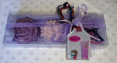 Exclusive Purple Christmas Soaps Gift by JoannasScentedSoaps