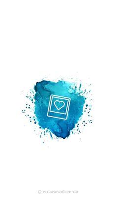 10 blue splash covers - Free Highlights covers for stories Instagram Logo, Instagram White, Feeds Instagram, Instagram Design, Instagram Frame, Instagram Posts, Instagram Captions For Pictures, Instagram Captions For Friends, Pastel Highlights