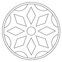 Maestra de Infantil: Mandalas para colorear. Mandalas de profesiones. Stencils Mandala, Mandala Painting, Stained Glass Patterns, Mosaic Patterns, Geometric Patterns, Mandala Coloring Pages, Colouring Pages, Mandala Pattern, Mandala Design