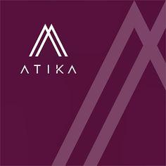 ATIKA Design Logo & Identity, muslimah hijab & clothing #logodesign #logodesigns #logo #logos #logodesigner #designgraphic #designer #design #deprant