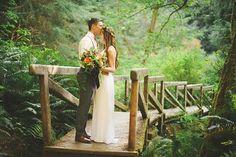 Megan and Cameron's California Redwoods Elopement/Wedding- Sarah Maren Photography