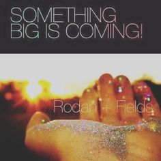 So I know Rodan and Fields is coming out with a revolutionary new product in October.  What I know: It is brand new to the skincare industry. It is projected to TRIPLE our revenue! People will be looking for a consultant to buy it from. {Why not YOU?} It is exclusive to Rodan+Fields. It will be introduced in October at convention & I will be there and among the first to learn about it, use it, & share it!! If you've been considering joining my team, NOW IS THE TIME!! Let's talk!